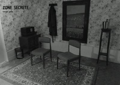 Bureau des années 1950, Escape game.