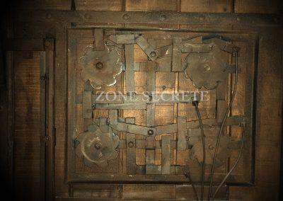 Escape game mécanisme en acier réalisé par Morgan BRUYNOOGHE.