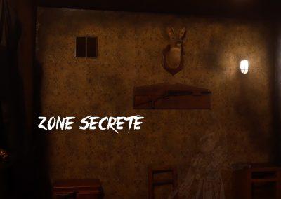 """Décoration type cauchemar """" sans le brouillard"""" Escape game."""
