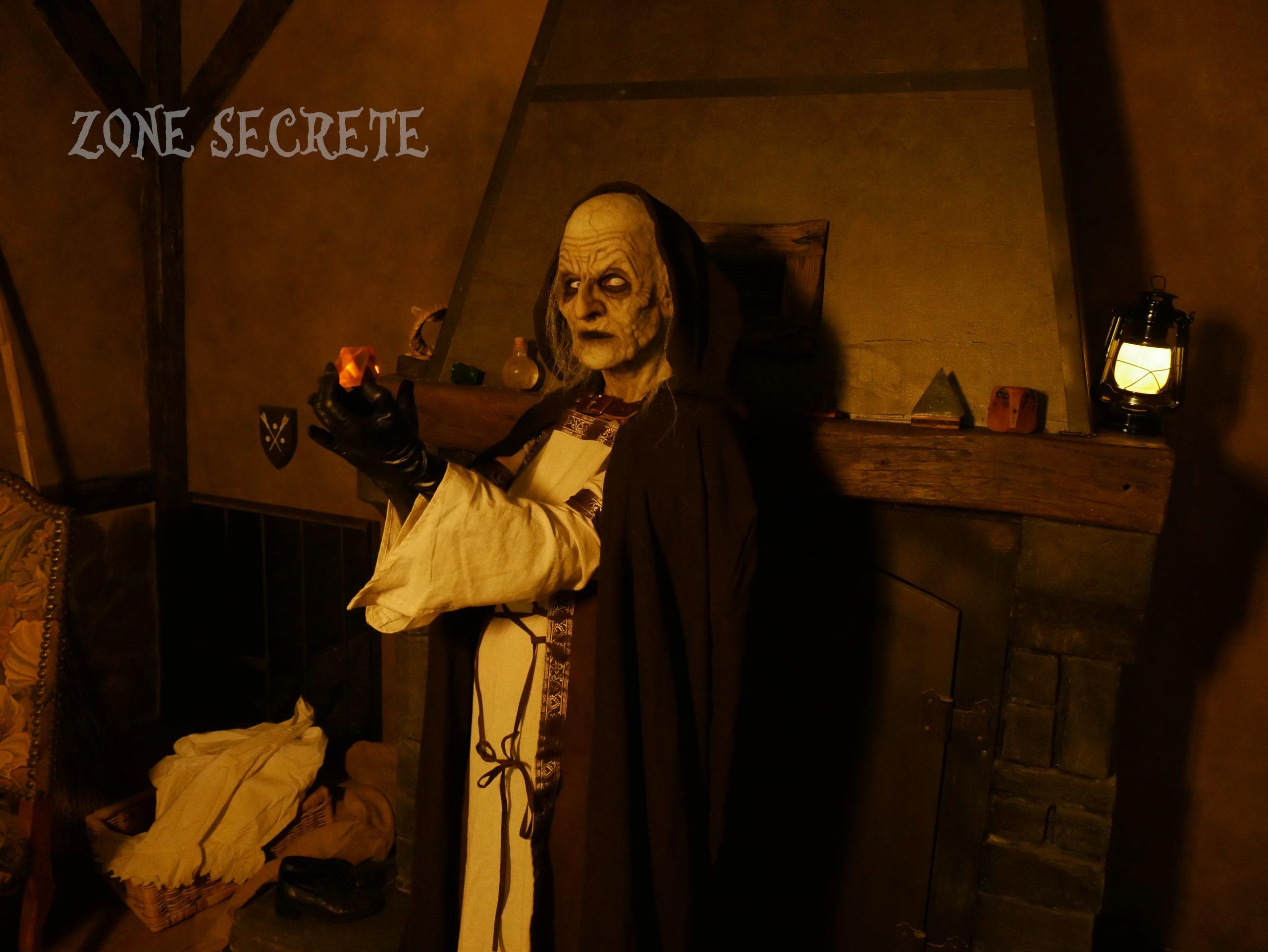 Décoration et sorcière hansel et gretel escape game.