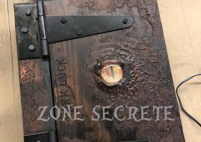 Accessoire grimoire escape game Zone secrète.
