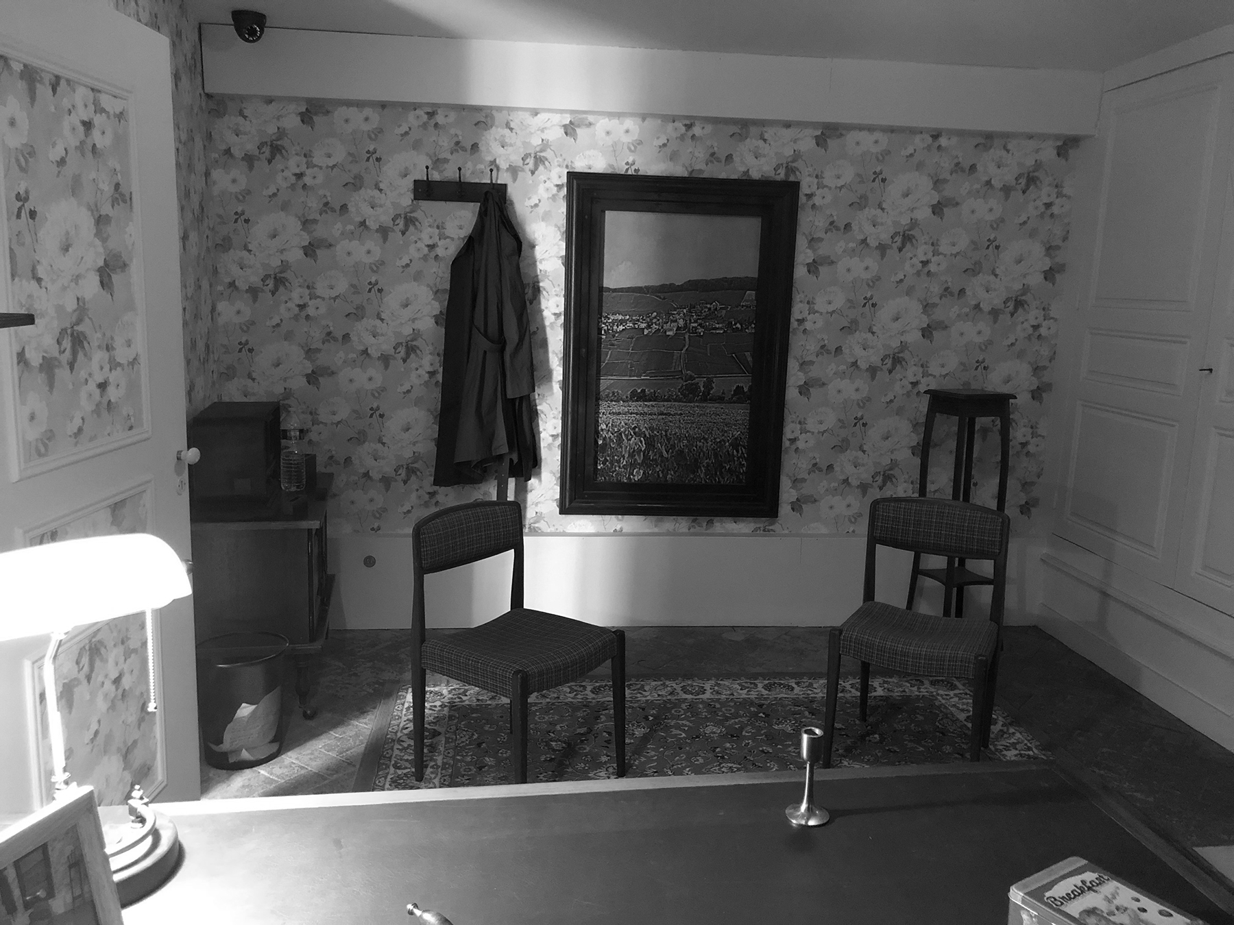 Bureau 1950 escape game zone secrète.